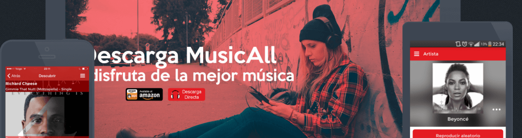 musicall similar a spotify