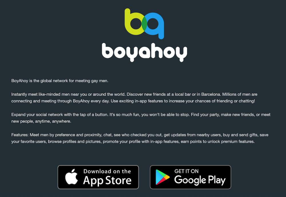 boyahoy app para concer hombres gay