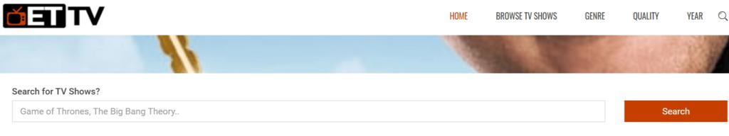 ETTV páginas de descargas torrent