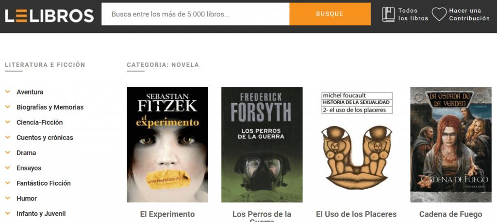 Lelibros online, un sitio donde descargar libros gratis en todos los formatos