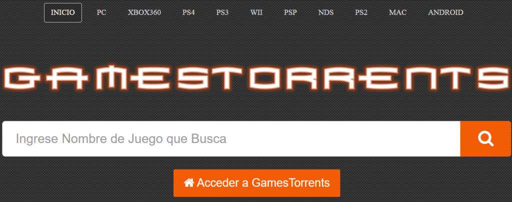 gamestorrent, página similar a estrenosgo para descargar juegos gratis